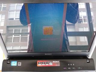 Laptop Sony Vaio Pcg-61a11u Vpceg Pantalla Partida En Tres.
