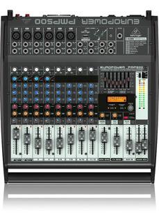 Consola Potenciada Behringer Europower Pmp500 Envío Gratis C