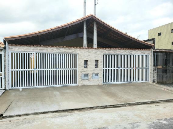 Linda Casa Em Solemar Praia Grande!! Ref. Ca0043