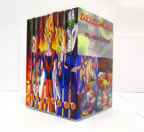 Dvd Box Dragon Ball Todas As Sagas Completo + Todos Filmes