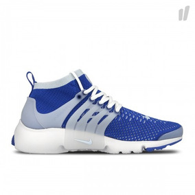 Liquidacao Tenis Nike Air Presto Ultra Flyknit Azul Origina