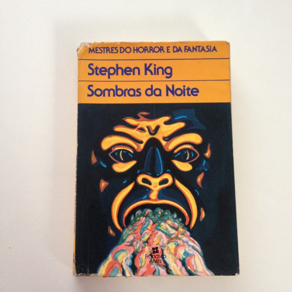 Livro Stephen King Sombras Da Noite E130