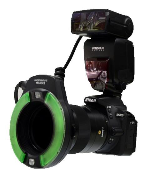 Cámara D5600 + Yongnuo 60mm Macro + Flash Macro 14 Exii
