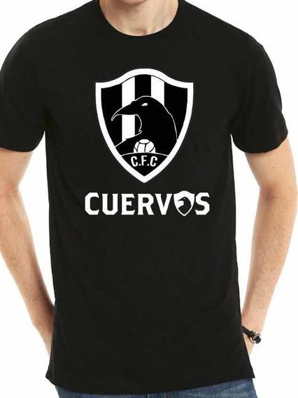 Playera Estampada Club De Cuervos + Envio Gratis