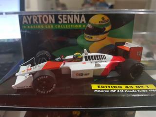 F1 - Ayrton Senna - Mclaren Campeão 1988 - 1:43 - Histórico