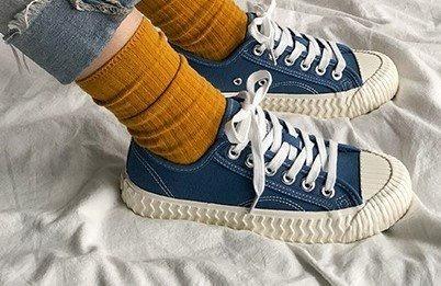 Tênis Estilo Chinesinho Vintage Moderno Conga Jeans Tenis De Lona Baixo Importado A Pronta Entrega Feminino E Masculino