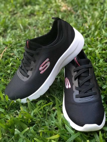 Zapatillas Skechers Mujer Negras.
