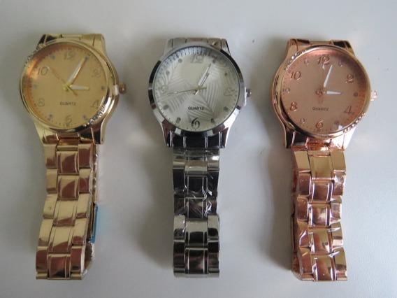 Relógio Feminino Quartz Super Barato Varias Cores Promoção