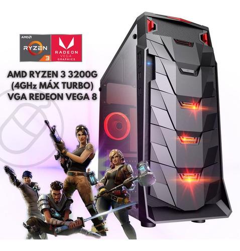 Pc Gamer Barata Amd Ryzen 3 3200g 8gb Ssd240gb Radeon Vega8