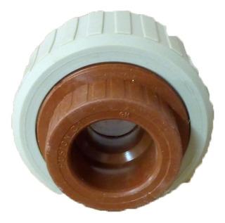 Unión Doble Termofusión 1 Pulgada H3 Agua Caliente Y Fria