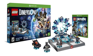 Lego Dimensions Xbox One Pack + Juego Fisico Nuevos