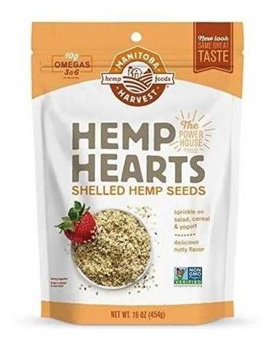 Manitoba Harvest Hemp Hearts Semillas De Cáñamo Crudas,
