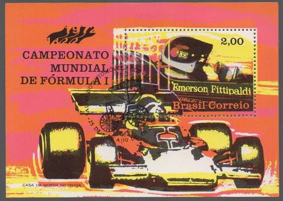 1972 B-33 Bl Formula-1 Fitipaldi Carimbo Salão Do Automóvel