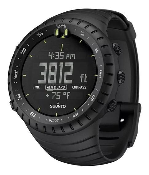 Relógio Suunto Core All Black Military Ss014279010 Esportes