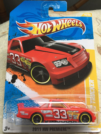 Bx125 Hw 2011 Hot Wheels Circle Trucker Pickup Caminhonete