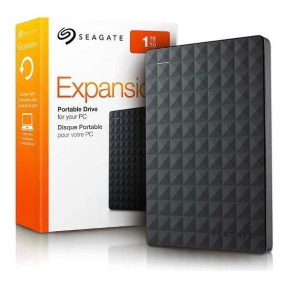 Hd Externo 1 Tb Seagate Expansion 2.5 Usb 3.0 Preto Promoção