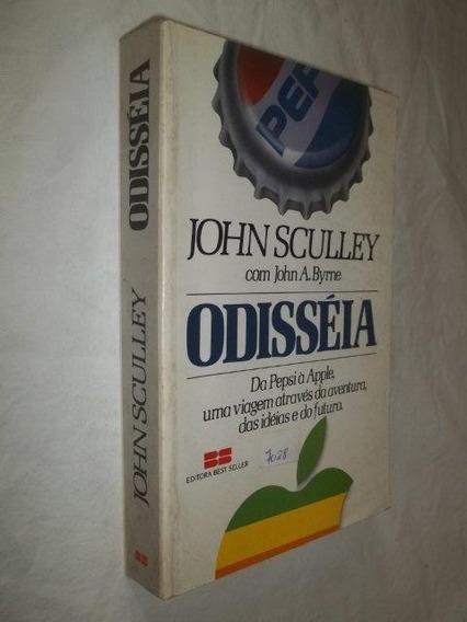 Livro - Odisséia - Da Pepsi A Apple Viagem John Sculley