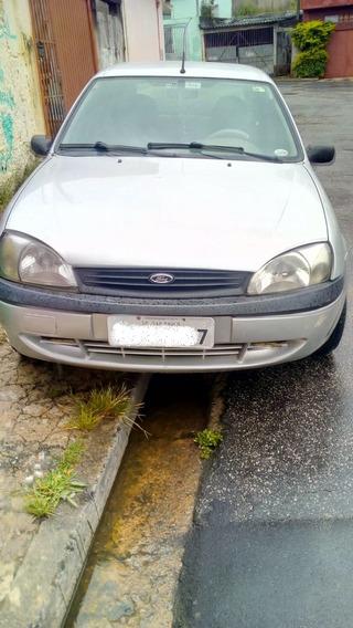 Ford Fiesta Sedan 1.6 Street 4p- Bancos Em Couro - Radio Mp3