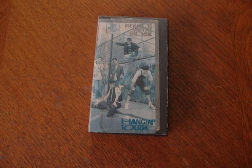 Fita De Vídeo-vhs-new Kids On The Block-hangin` Tough-1989.