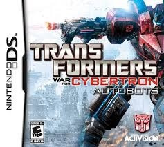 Transformers War For Cybertron Autobots Nintendo Ds