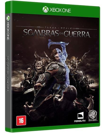 Jogo Sombras Da Guerra Xbox One Mídia Física Novo Português