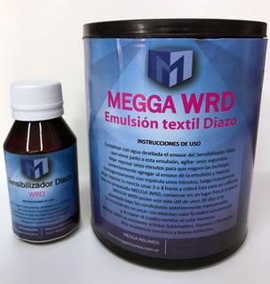 Emulsión Textil Al Diazo Megga Wrd X 1 Lt