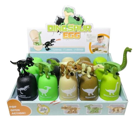 Caja Huevos De Dinosaurio Armables (15 Huevos)