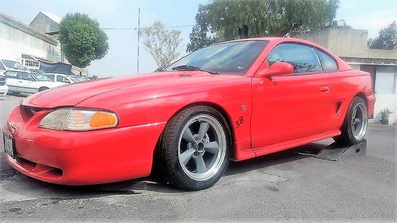 Ford Mustang 1998 5.0 Gt Equipado Piel Cd Automatico