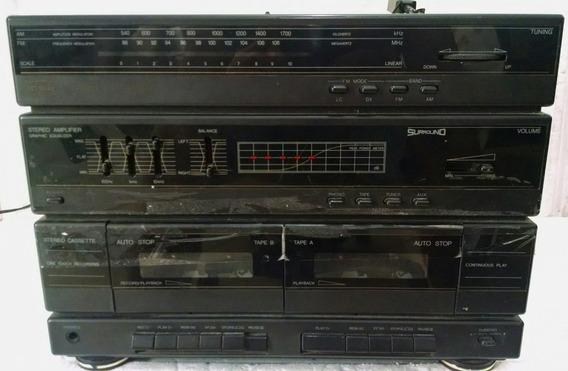 Toca Disco Cce Ss-4880 Para Desmanche Placa Peças Antigo