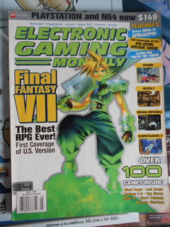 Revistas De Video Juegos Egm Game Informer Varios En Ingles