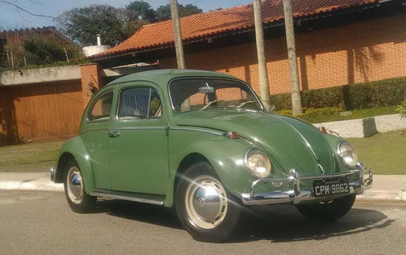 Fusca 1969 Verde Folha