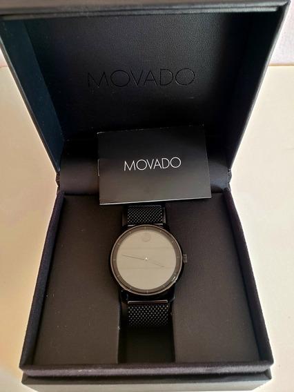 Relógio Movado Masculino Aço Preto - 3600261