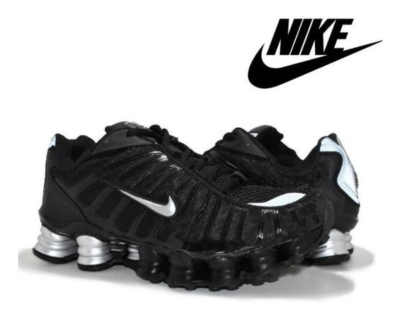 Tenis Nike Shox 12 Molas Original Prata Lançamento Promoção