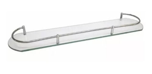 Estante Rectangular De Vidrio Ideal Baño Cocina Todo Barato