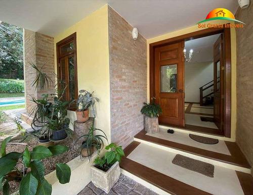 Imagem 1 de 30 de Casa Com 3 Dormitórios À Venda, 397 M² Por R$ 1.980.000 - Granja Viana - Sp - Ca0256