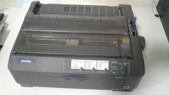 Impressora Matricial Epson Fx 890 Black Usada
