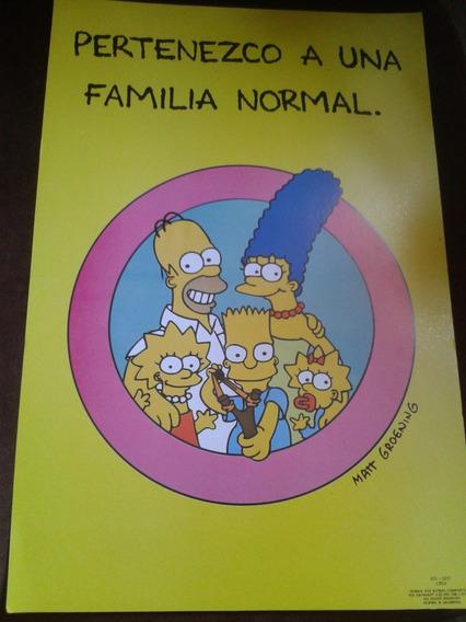 Posters Originales De Los Simpsons - Retro - Envios