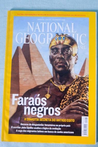 National Geographic - Ed Fevereiro De 2008 - Faraós Negros