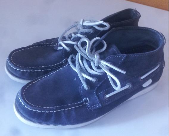 Zapatos Gant Casuales En Buen Estado Poco Uso Color Azul 40