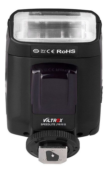 Flash Viltrox Jy 610 Canon & Nikon Drsl Universal Sapata