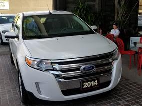 Ford Edge Sel 2014 Blanco