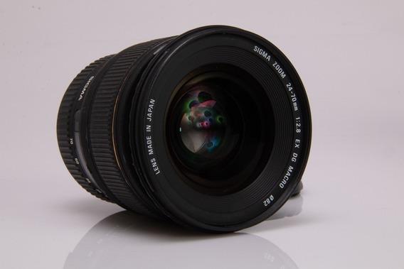 Objetiva Sigma Para Nikon 24 70 Dg Macro 2.8
