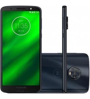 Celular Motorola Moto G6 Plus Xt1926 Indigo Black Lacrado