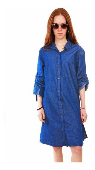 Customs Ba Camisolas Mujer Importada Largas Vestidos Full