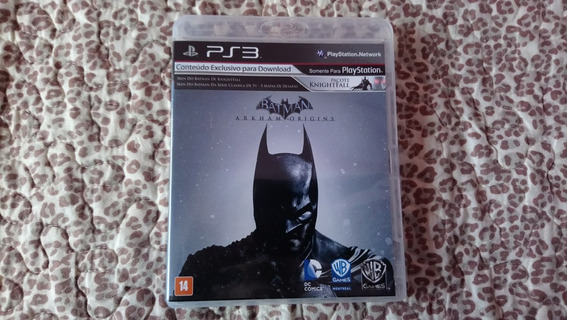 Jogo Playstation 3 Batman Arkham Origins