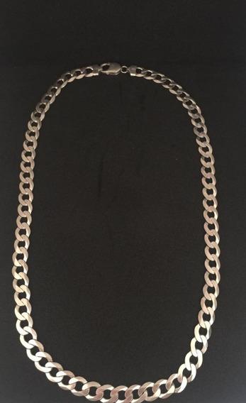 Corrente De Prata (semi Nova) Masculina. 925 - 60cm