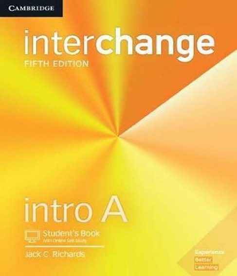 Interchange Intro A - Student´s Book With Online Self-study