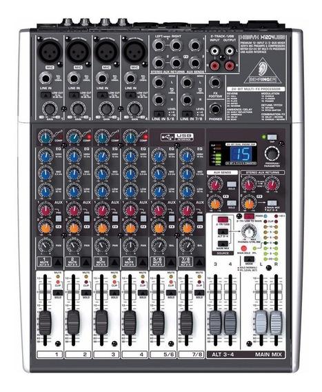 Mesa De Som Behringer Xenyx X1204usb Mixer Usb