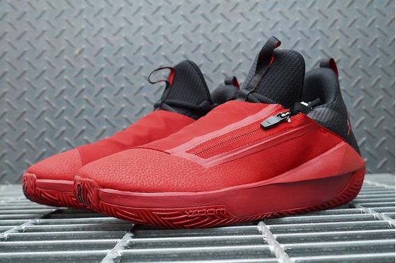 Tenis Jordan Jumpman Hustle Rojo Negro#6 Al 9.5 Mx Original