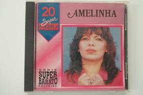 Cd Amelinha 20 Super Sucessos
